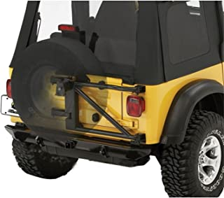 Bestop 61960-01 HighRock 4X4 Black Oversize Tire Carrier for 1987-2006 Wrangler