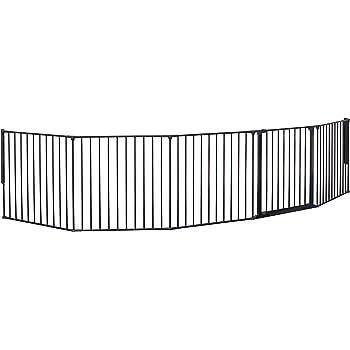 BabyDan Premier B/éb/é Barri/ère de S/écurit/é en pour Escalier Noir 105,5-112,8cm
