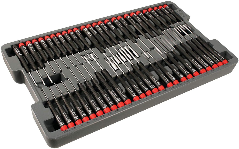 Wiha 92191 Precision Screwdrivers 51 Pcs Master Set in Storage Tray