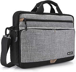 tomtoc Laptop Umhängetasche Schultertasche kompatibel mit HP 15/15,6 Zoll Lenovo ThinkPad E575 / IdeaPad S510, Notebook Ta...