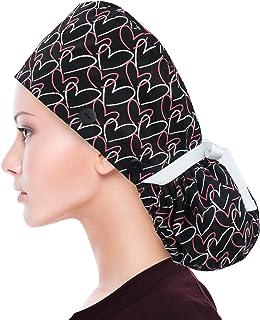 European Scrub Hat Human body women\u2019s scrub hat Skeleton scrub cap X Ray Tech Surgeon Scrub Cap with extra room for hair.