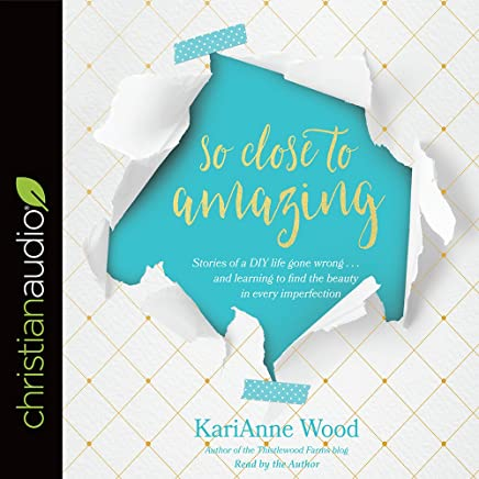 So Close to Amazing: Stories of a DIY Life Gone Wrong . . . and Learning to Find the Beauty in Every Imperfection