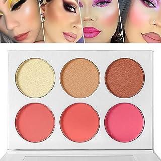 Blusher & Highlighter Palette, Blusher Illuminator Highlighter Contour Bronzer All in One Makeup...