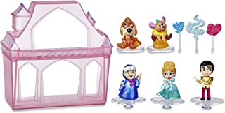 Disney Princess Comics Surprise Adventures Cinderella with 5 Dolls, Accessories, and Display Case, Fun Unboxing Toy for Ki...