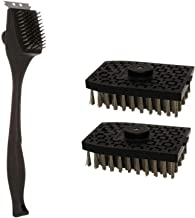 Nexgrill Grill Brush with Replaceable Head Bundle Grill Brush Replacement Heads, 2-Pack