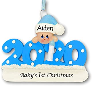Best Personalized 2020 Baby Christmas Ornament - Baby