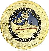 U.S. Coast Guard Challenge Coin Commemorative Military Veterans Coin