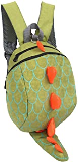 ZHUANNIAN Kids Toddlers Dinosaur Backpack with Safety Leash for Boys Girls