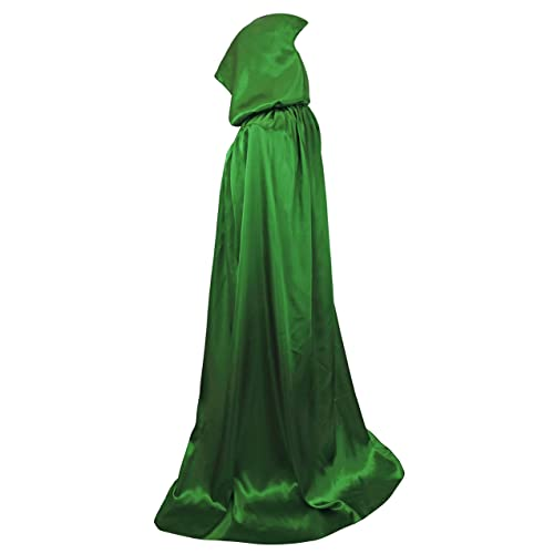 VGLOOK Unisex Hooded Halloween Christmas Cloak Costumes Party Cape e55e3d7ff