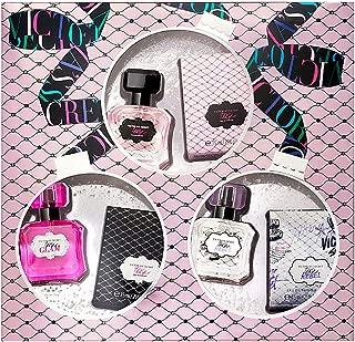 Victoria's Secret 3 Tease, Tease Glam & Tease Rebel Parfum Set 0.25oz / 7.5ml