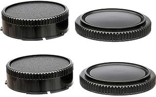 Lens UK Seller NEW Body /& Rear Lens Cap Set for Canon FD Mount SLR Film Camera