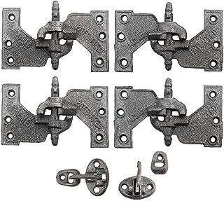 Acme Cast Iron Mortise Shutter Hinges - 5 1/2