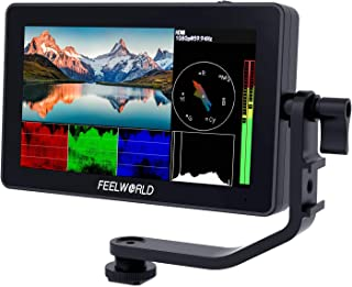 FEELWORLD F6 Plus 5.5 inch DSLR Camera Field Touch Screen Monitor with HDR 3D Lut Small Full HD 1920x1080 IPS Video Peakin...