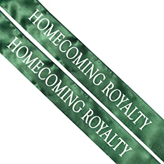 homecoming prince sash
