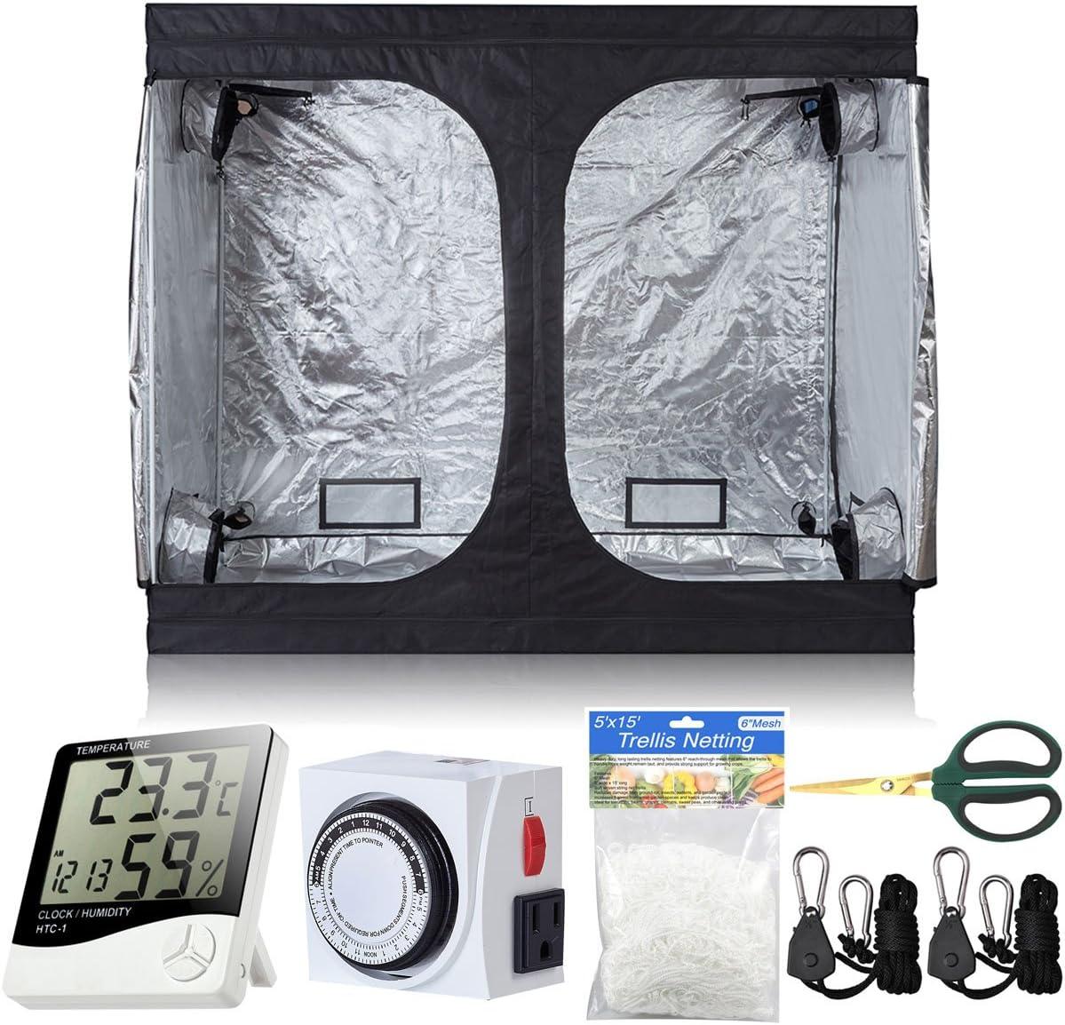 BloomGrow 96''x48''x80'' Grow OFFer Tent Room Floor Waterproof w Max 88% OFF Tray