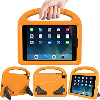 LEDNICEKER Kids Case for iPad Mini 1 2 3 4 5 - Light Weight Shock Proof Handle Friendly Convertible Stand Kids Case for iPad Mini, Mini 5 (2019), Mini 4, iPad Mini 3rd Gen, Mini 2 - Orange