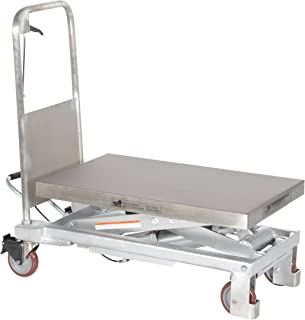 stainless steel lift cart