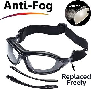 580a0440ec SAFEYEAR Lunette de Protection Travail –SG002 Anti-buée Homme Taille Lunettes  Protection Ellipse,