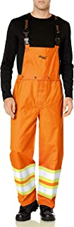 Viking Men's Pro Journeyman 300d Safety Bib Pant (ansi Config)