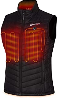 Women's Heated Vest with Battery Pack - Insulated...