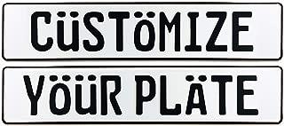 Custom European License Plate (Plate)