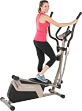 EXERPEUTIC 1318 5000 Magnetic Elliptical Trainer with Double Transmission Drive