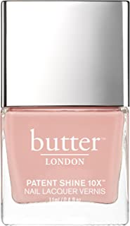 Butter London Patent Shine 10X Nail Lacquer for Women, Shop Girl, 0.4 Ounce, 127.01 g