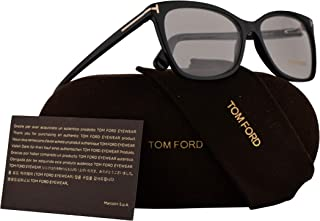 49fedf2850f10d Tom Ford FT5514 Eyeglasses 54-15-140 Shiny Black w/Demo Clear Lens