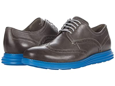 Cole Haan Original Grand Shortwing (Ironstone/Dire Blue) Men
