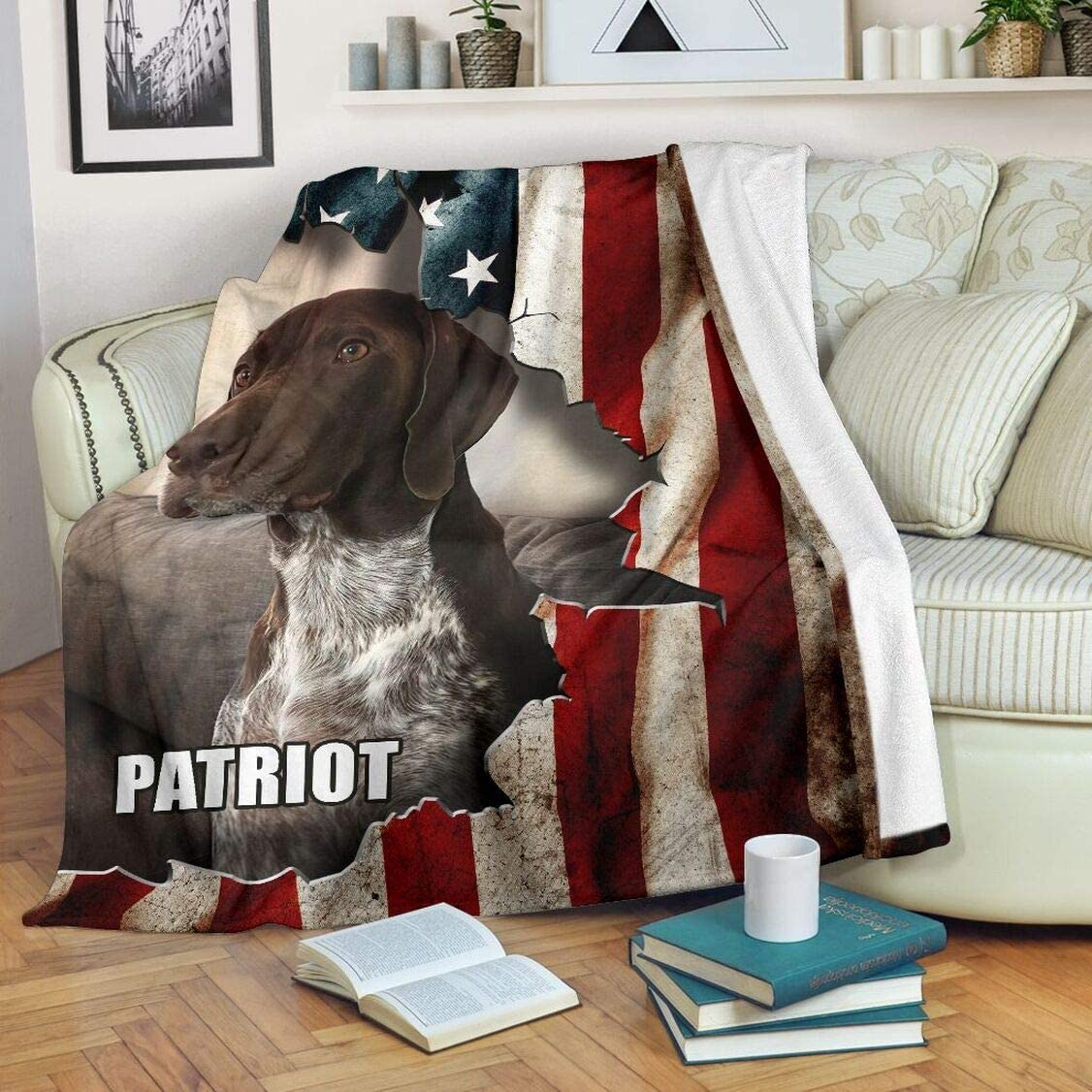 GSP Flag Blanket Sherpa All items free shipping Purchase Fleece Warm for Soft Bed