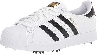New Mens Superstar FY9926 Golf Shoes White/Black/Gold -Choose Your Sz