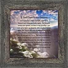 Elegantly Yours If Tears Could Build a Stairway, Memorials for Loved Ones, Sympathy Gifts, Memory Photo Frame, 10x10 8651BW