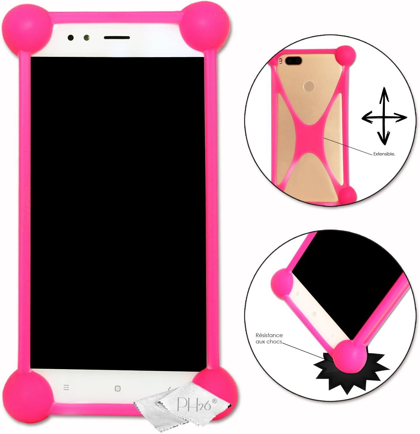 Shockproof Silicone Bumper Case for SH-01H Low price Zeta Manufacturer OFFicial shop Sharp Pink Aquos