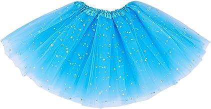 TOOGOO Smart Baby Girl Clothes Stars Lentejuelas Enagua Ballet Danza Fluffy Tutu Falda Morado Claro