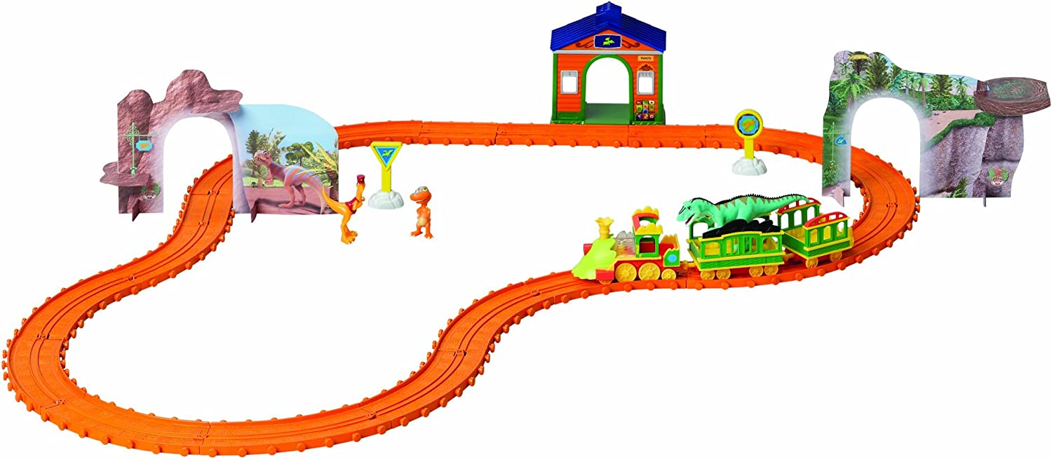 Dinosaur Train Dino Track Set Trenino