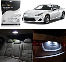 Partsam LED Interior Package Light Kits + License Plate Light Compatible with Scion FRS 2013 2014 2015 2016 (6 Pieces/White)