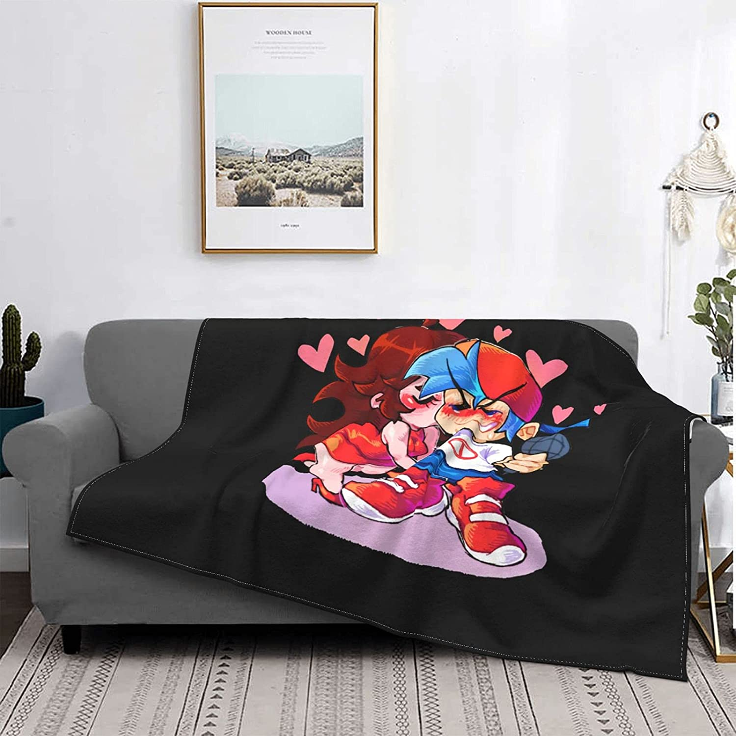 Friday Night Funkin Super Soft Seasons Four Special SALE Large discharge sale held Microfleece Blanket