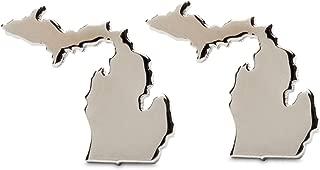 Michigan Earrings | Michigan Map Stud Earrings | Michigan Jewelry | Michigan Gifts | Michigan Stainless Steel Earrings | Product