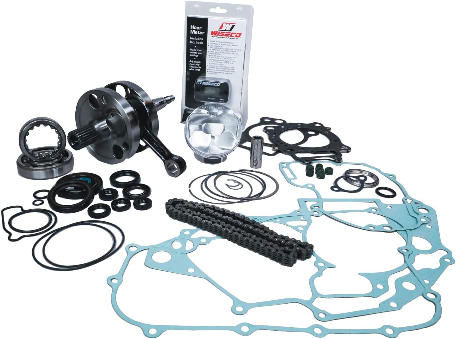 Wiseco PWR159-100 Opening large release Max 58% OFF sale Garage Buddy Complete Kit Engine Rebuild
