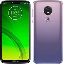Motorola Moto G7 Power – Smartphone Android 9 (pantalla 6.2'' HD+ Max Vision, cámaras 12MP y 8MP, 4GB de RAM, 64 GB, Dual SIM), color violeta hielo [Versión española]