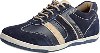 Andrew Scott Men's Leather Sneakers(WL-08)