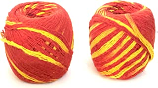 GD Hindu Wrist Thread Band Religious Pooja Accessories Mauli Kalawa Moli Cotton Mauli Kalawa Religious Moli Hindu Pooja Ac...