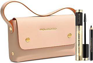 f94373aa4f2ae7 Collistar Mascara Volume Unico Nero + Matita Professionale Occhi + Pochette  beige/arancio