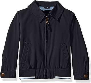 London Fog Boys' Micro Rib Knit Banded Bottom Jacket