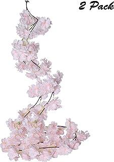 Enredadera Artificial Guirnalda Flores de Cerezo (Pack de 2