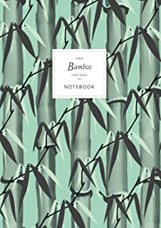 Bamboo Notebook - Lined Pages - A4 - Large: (Spring Green Edition) Notebook 192 lined pages (A4 / 8.27x11.69 inches / 21x2...