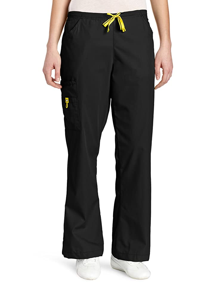 WonderWink Women's Scrubs Romeo Six-Pocket Flare Leg Pant