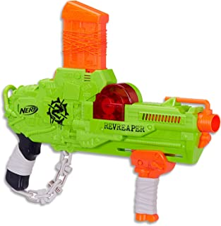 NERF Zombie Strike - Revreaper Pump Action Blaster inc 10 Darts & Clip - Kids Toys & Outdoor Games - Ages 8+