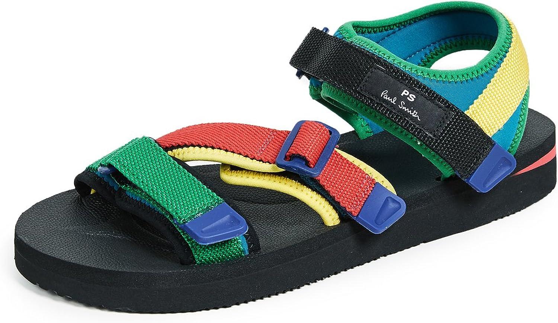 Paul Smith Herren Webbing Sandals 'Formosa' Multi B07C842K1Q    438e65