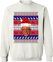 Bernie Sanders Bern Reindeer Ugly Christmas Funny DT Crewneck Sweatshirt